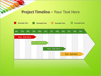 Colored Wire PowerPoint Template - Slide 5
