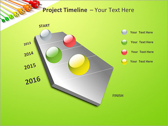 Colored Wire PowerPoint Template - Slide 6