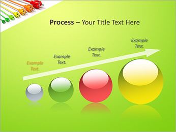 Colored Wire PowerPoint Template - Slide 67