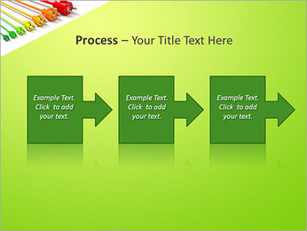 Colored Wire PowerPoint Template - Slide 68