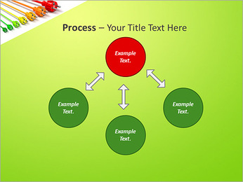 Colored Wire PowerPoint Template - Slide 71