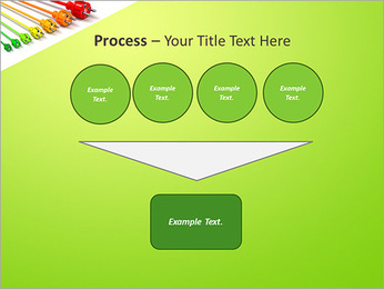 Colored Wire PowerPoint Template - Slide 73
