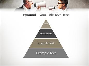 Colleagues Quarrel PowerPoint Template - Slide 10