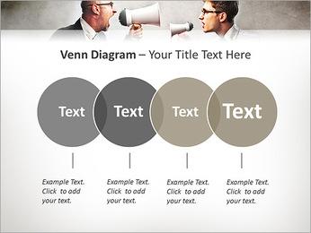 Colleagues Quarrel PowerPoint Template - Slide 12