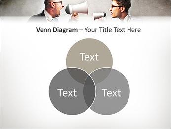 Colleagues Quarrel PowerPoint Template - Slide 13