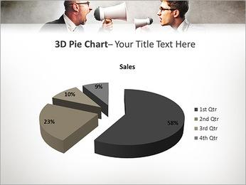 Colleagues Quarrel PowerPoint Template - Slide 15