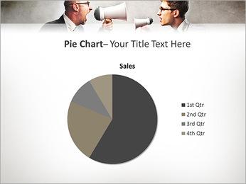 Colleagues Quarrel PowerPoint Template - Slide 16