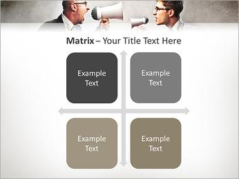 Colleagues Quarrel PowerPoint Template - Slide 17