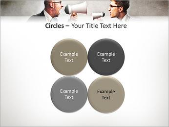 Colleagues Quarrel PowerPoint Template - Slide 18