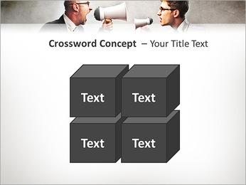Colleagues Quarrel PowerPoint Template - Slide 19