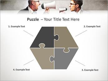 Colleagues Quarrel PowerPoint Template - Slide 20