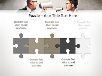 Colleagues Quarrel PowerPoint Template - Slide 21