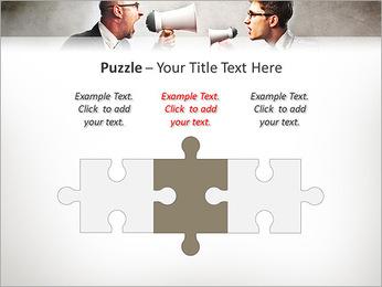 Colleagues Quarrel PowerPoint Template - Slide 22