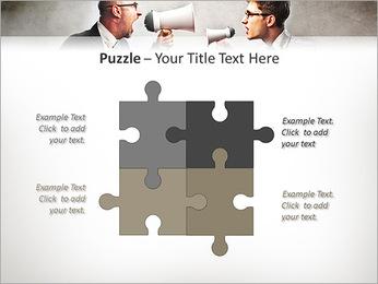 Colleagues Quarrel PowerPoint Template - Slide 23