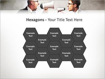Colleagues Quarrel PowerPoint Template - Slide 24