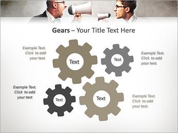 Colleagues Quarrel PowerPoint Template - Slide 27