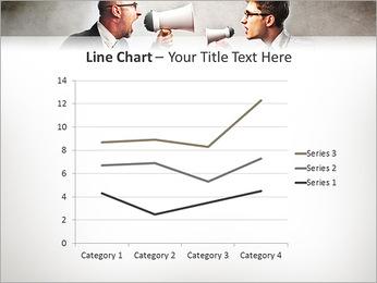 Colleagues Quarrel PowerPoint Template - Slide 34