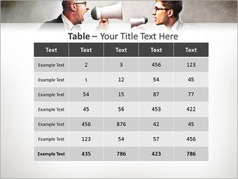 Colleagues Quarrel PowerPoint Template - Slide 35