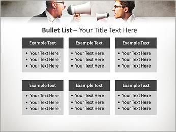 Colleagues Quarrel PowerPoint Template - Slide 36