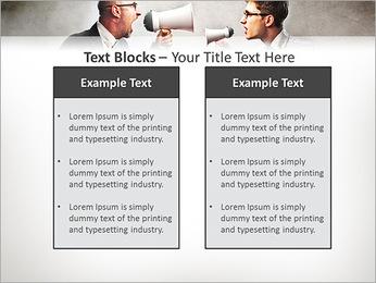 Colleagues Quarrel PowerPoint Template - Slide 37