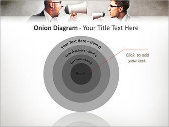 Colleagues Quarrel PowerPoint Template - Slide 41