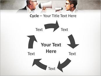 Colleagues Quarrel PowerPoint Template - Slide 42