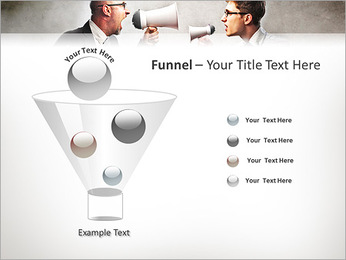 Colleagues Quarrel PowerPoint Template - Slide 43