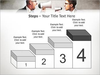 Colleagues Quarrel PowerPoint Template - Slide 44