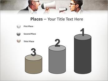 Colleagues Quarrel PowerPoint Template - Slide 45