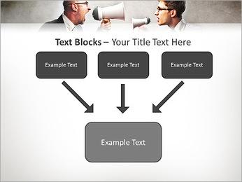 Colleagues Quarrel PowerPoint Template - Slide 50