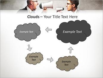 Colleagues Quarrel PowerPoint Template - Slide 52