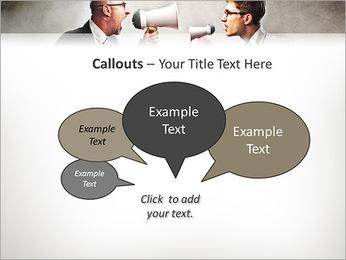 Colleagues Quarrel PowerPoint Template - Slide 53