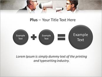 Colleagues Quarrel PowerPoint Template - Slide 55