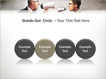 Colleagues Quarrel PowerPoint Template - Slide 56