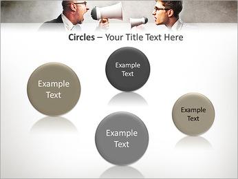 Colleagues Quarrel PowerPoint Template - Slide 57