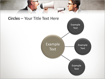Colleagues Quarrel PowerPoint Template - Slide 59