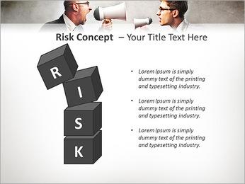 Colleagues Quarrel PowerPoint Template - Slide 61