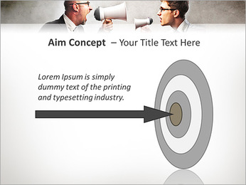 Colleagues Quarrel PowerPoint Template - Slide 63