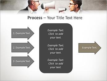 Colleagues Quarrel PowerPoint Template - Slide 65