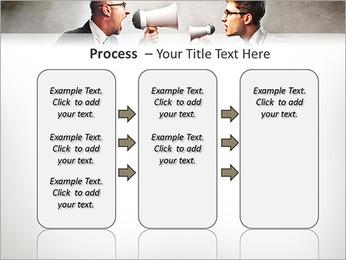 Colleagues Quarrel PowerPoint Template - Slide 66