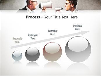Colleagues Quarrel PowerPoint Template - Slide 67