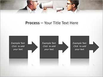 Colleagues Quarrel PowerPoint Template - Slide 68