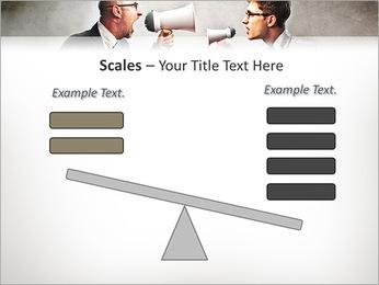 Colleagues Quarrel PowerPoint Template - Slide 69