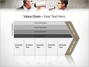 Colleagues Quarrel PowerPoint Template - Slide 7