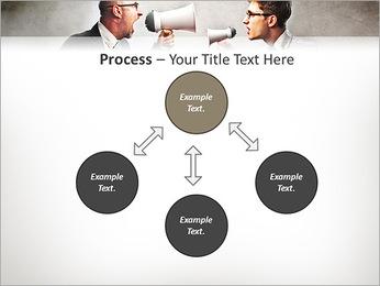 Colleagues Quarrel PowerPoint Template - Slide 71