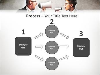 Colleagues Quarrel PowerPoint Template - Slide 72