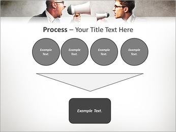 Colleagues Quarrel PowerPoint Template - Slide 73