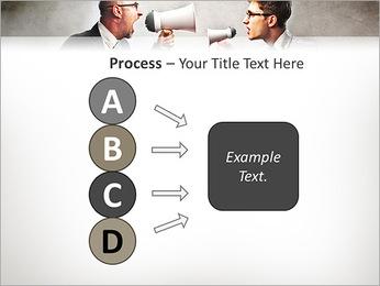 Colleagues Quarrel PowerPoint Template - Slide 74