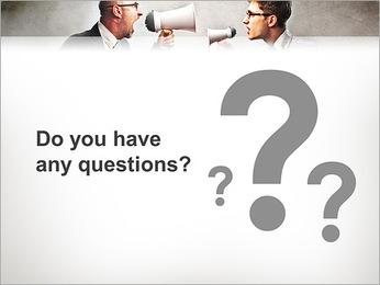 Colleagues Quarrel PowerPoint Template - Slide 75