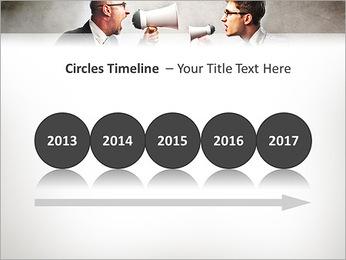 Colleagues Quarrel PowerPoint Template - Slide 9